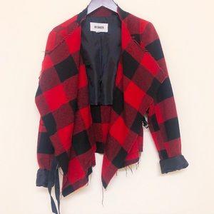 Bb Dakota flannel print jacket